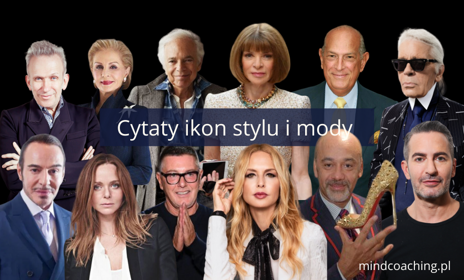 cytaty moda